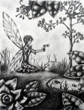 Drawings of fairies 8