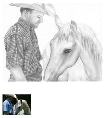 Drawings of horses #3