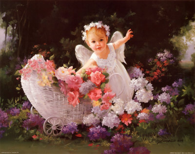 Baby Angel Buy at Art.com