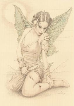 Drawings of fairies 3