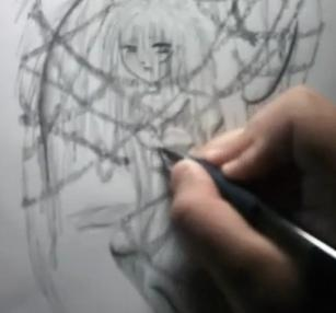 Draw Cartoon Angel - Fallen Angel 14
