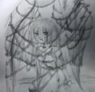 Draw Cartoon Angel - Fallen Angel 15