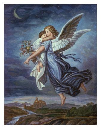 Guardian Angel Drawings by Wilhelm - Buy at Art.com