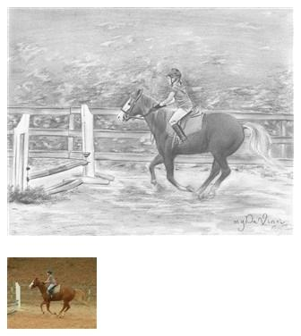 Drawings of horses #4