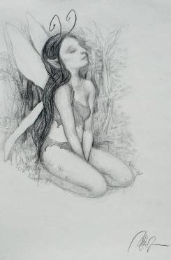 Drawings of fairies 4