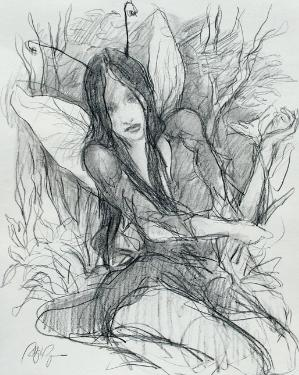 Drawings of fairies 7