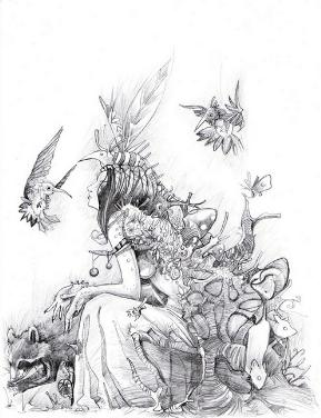 Drawings of fairies 9