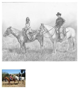 Drawings of horses #1