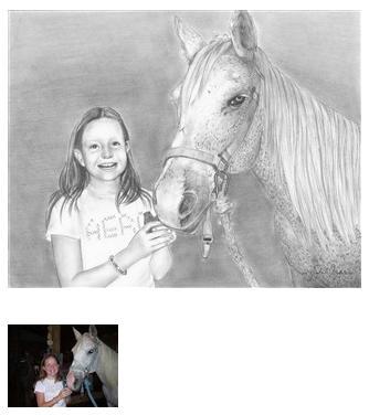 Drawings of horses #2