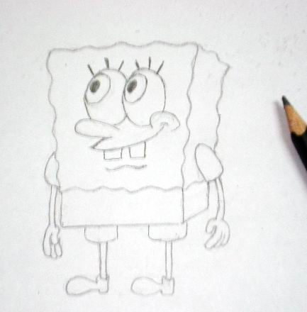 How to draw Spongebob 2