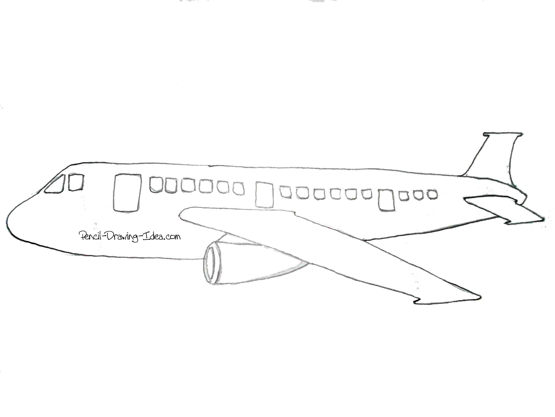 Airplane sketch