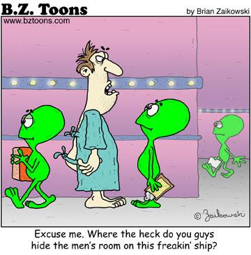 Alien Men's Room