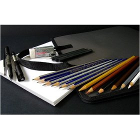 Faber Castell Complete Drawing & Sketching Set