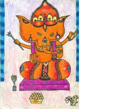 Ganesha drawing