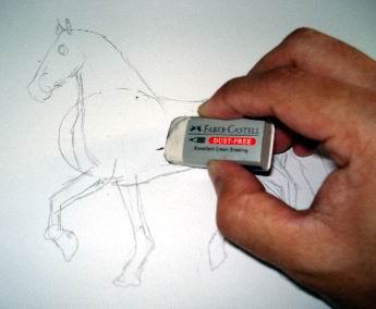 A horse sketch 4
