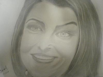 Portrait of Aishwarya Rai
