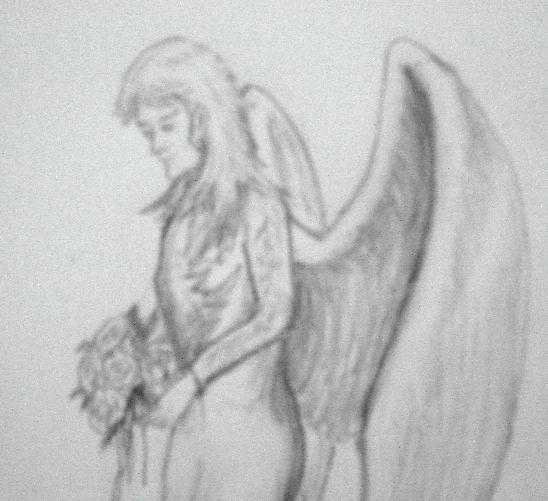 Easy Angel Pencil Drawings Angel Pencil Drawing Sketch