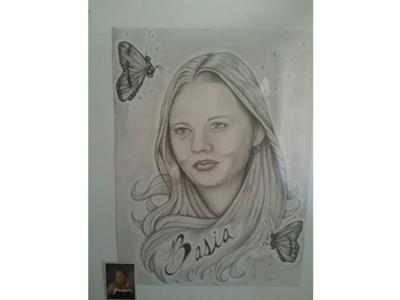 My wife Basia