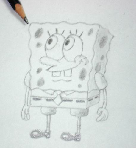 How to draw Spongebob 5