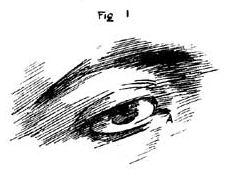 Eye pencil drawings Step 1