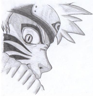 Kyuubi Naruto  Naruto Drawings In Pencil Easy