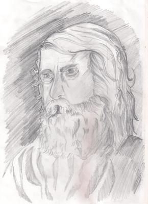 Rabindranath Tagore Portrait